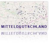 Projekte der GEOmontan GmbH in Mitteldeutschland.