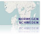 Projekte der GEOmontan GmbH in Norwegen und Schweden.